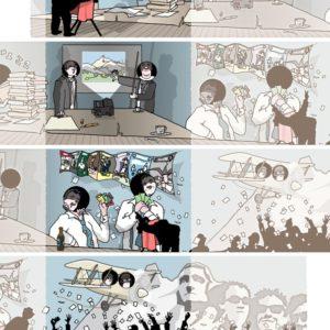 Jubileum cartoon 2